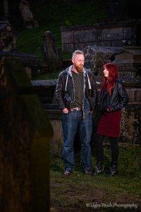 shooting on location - Graveyard-1